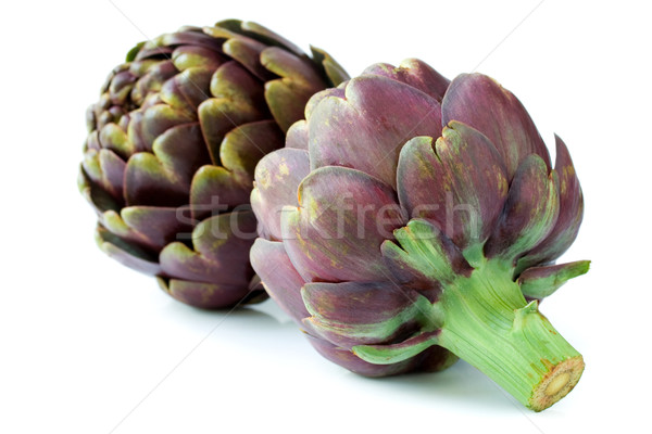 purple artichokes  Stock photo © susabell