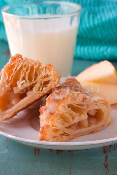 Slice of apple dessert Stock photo © susabell