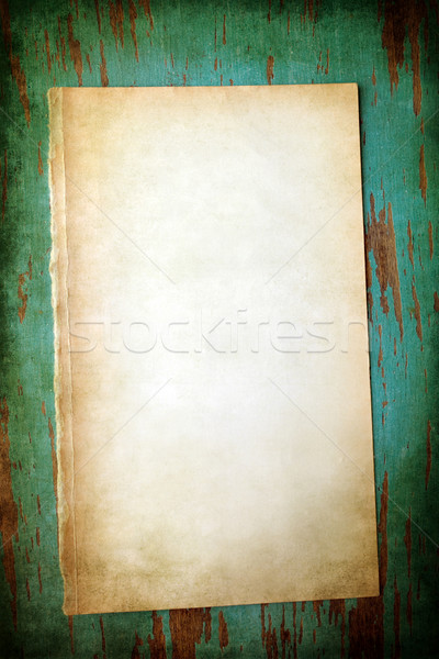 grungy paper Stock photo © susabell