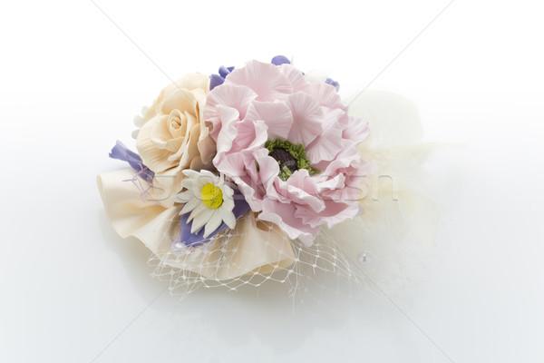 Bridal hair accessory Stock photo © svetography