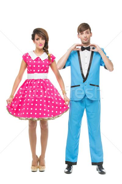 Boy and girl Stock photo © svetography