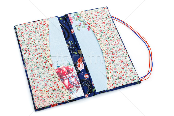 Scrapbooking holder for travel documents Stock photo © svetography