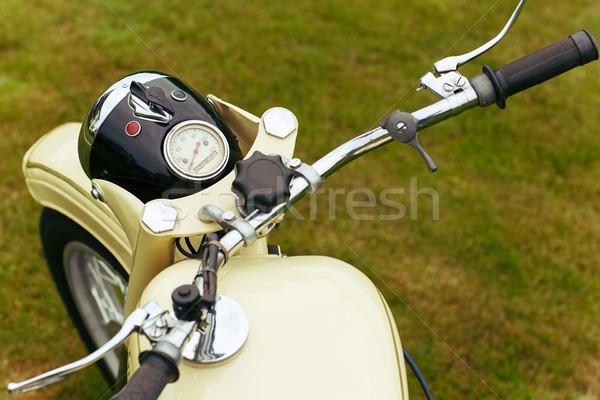beautiful retro vintage motorbike Stock photo © svetography