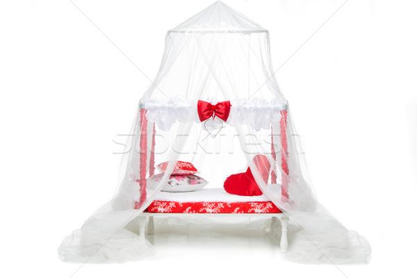 Klein origineel bed honden mooie klein Stockfoto © svetography