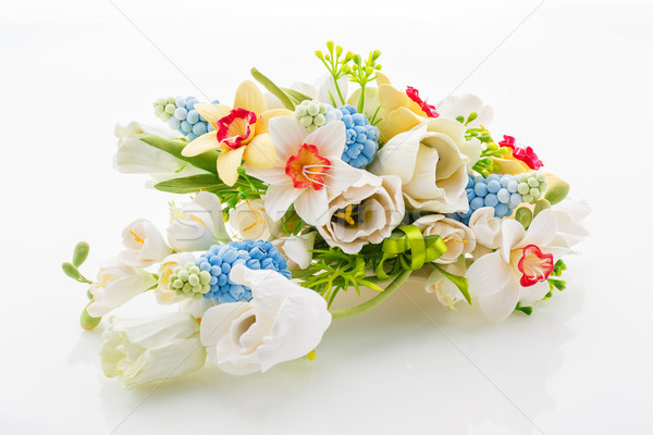 Beautiful spring flower bouquet Stock photo © svetography