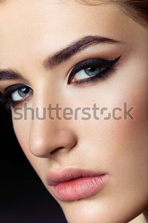 Beautiful girl with ponytails Stock photo © svetography