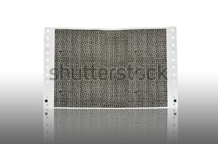 Pay slip paper isolated Stock photo © sweetcrisis