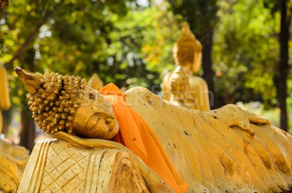 ősi Buddha Thaiföld nem licenc utazás Stock fotó © sweetcrisis
