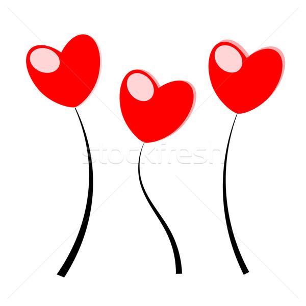 Stock photo: Heart vector