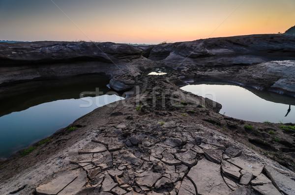 Tavacska folyó Grand Canyon Thaiföld fal természet Stock fotó © sweetcrisis