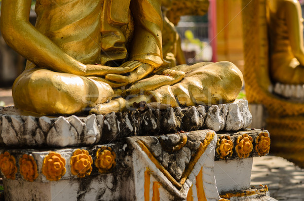 Oude buddha Thailand niet licentie reizen Stockfoto © sweetcrisis