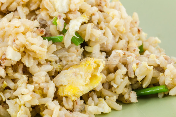 Fried rice Stock photo © sweetcrisis