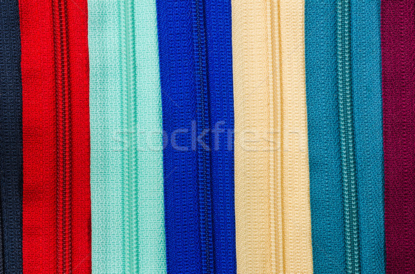 Zipper colorful background Stock photo © sweetcrisis
