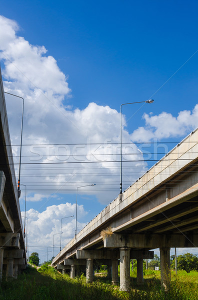 elevated express way  Stock photo © sweetcrisis