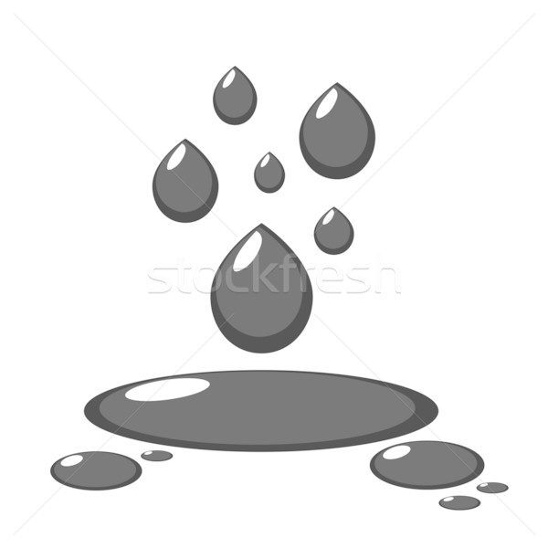 Stock photo: Oil vector