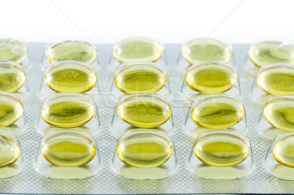 Nutritional supplements in capsules  Stock photo © sweetcrisis