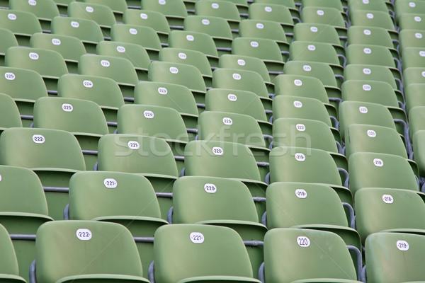 Futbol stadyum parlak yeşil spor futbol Stok fotoğraf © swisshippo