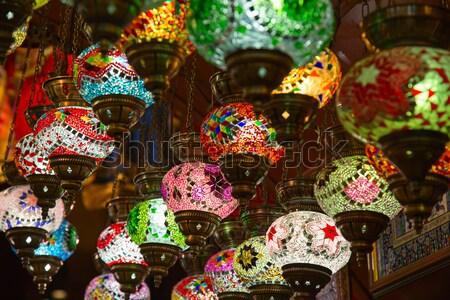 ストックフォト: クリスマス · 装飾 · コレクション · カラフル · デザイン · ガラス