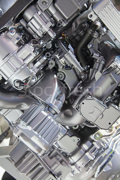 Araba motor parlak modern teknoloji bilim Stok fotoğraf © swisshippo