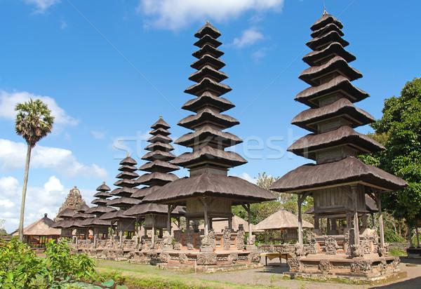 Bali Endonezya adam güzellik turuncu seyahat Stok fotoğraf © swisshippo