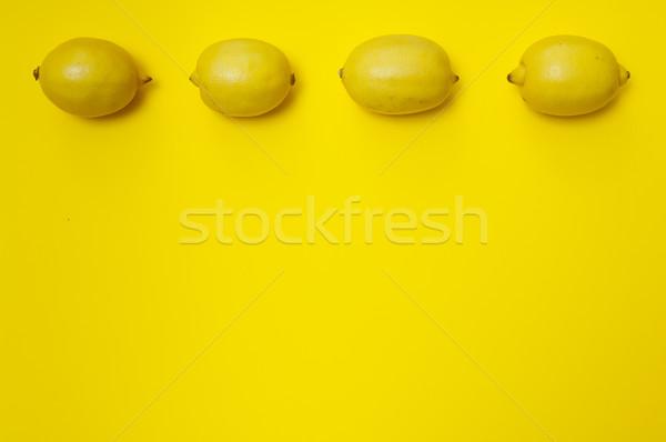 Limon sarı bo dört sağlık Stok fotoğraf © szabiphotography