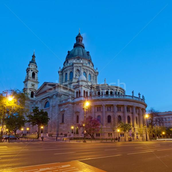 St. Stephen's Basiica, Budapest, Hungary Stock photo © szabiphotography