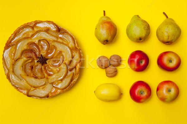 Całość jabłko owoce żółty gruszka Zdjęcia stock © szabiphotography