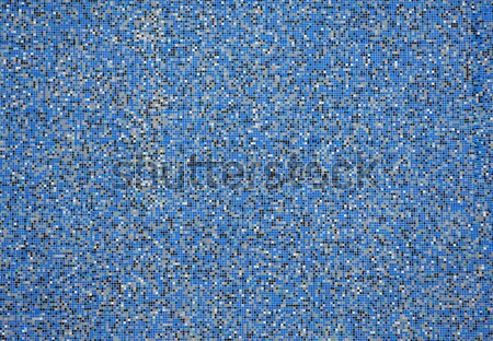 Square pixel mosaic background with bluish tones Stock photo © szabiphotography