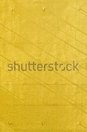żółty ściany cień wąski tle Zdjęcia stock © szabiphotography