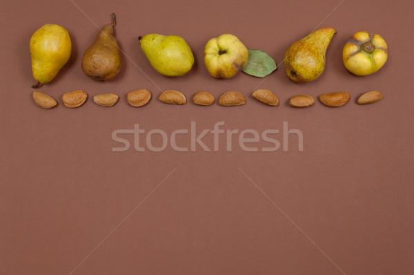 Armut sarı bo ayva Stok fotoğraf © szabiphotography