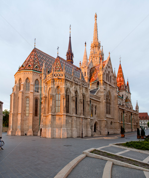Matthias Church in Buda Castle Stock photo © szabiphotography