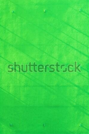 Zielone ściany cień wąski świetle Zdjęcia stock © szabiphotography