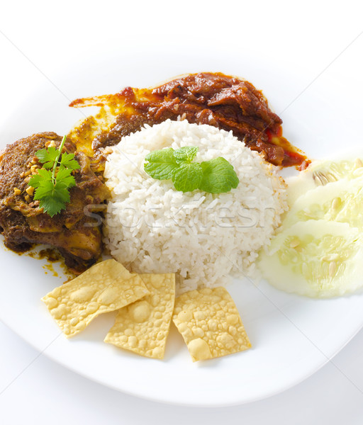 Asian cuisine Stock photo © szefei