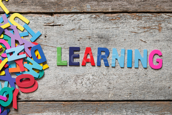 LEARNING Stock photo © szefei