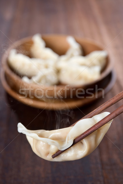 Yummy Dumplings Stock photo © szefei