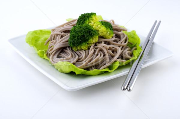 Soba Noodles Stock photo © szefei