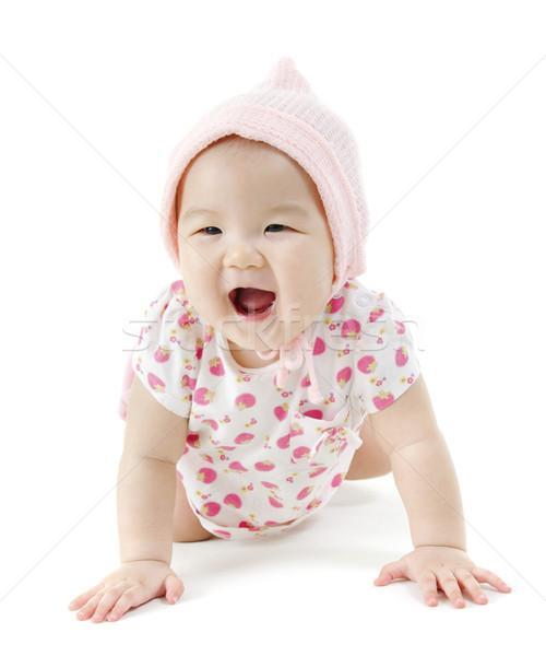 Portrait of Asian baby girl  Stock photo © szefei