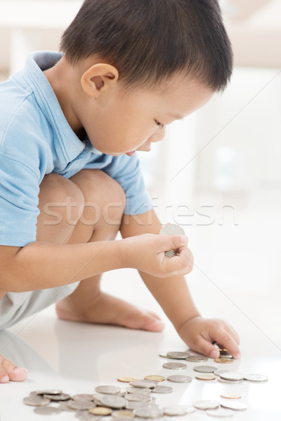 Child educational fund concept Stock photo © szefei