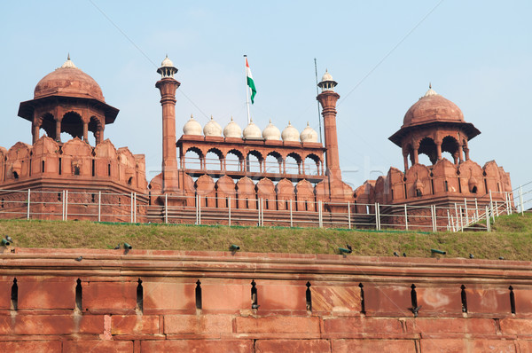 Red Fort in Delhi Stock photo © szefei