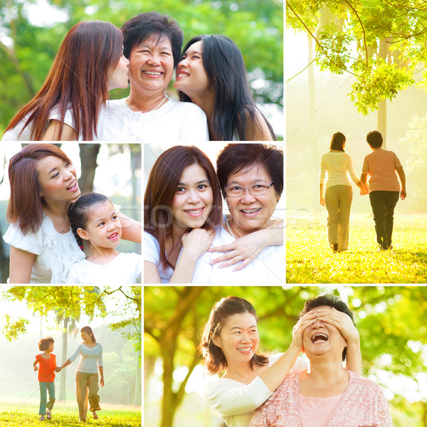 Collage photo mothers day concept.  Stock photo © szefei