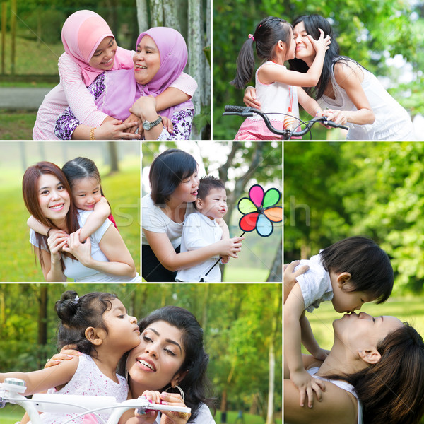 Mothers day concept Stock photo © szefei