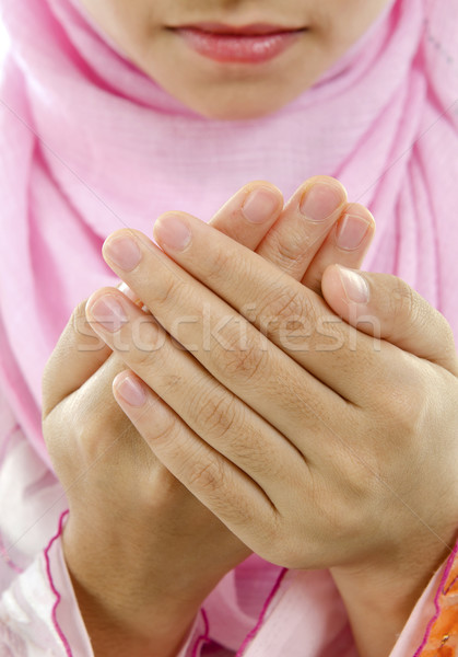 Muslim prayer Stock photo © szefei
