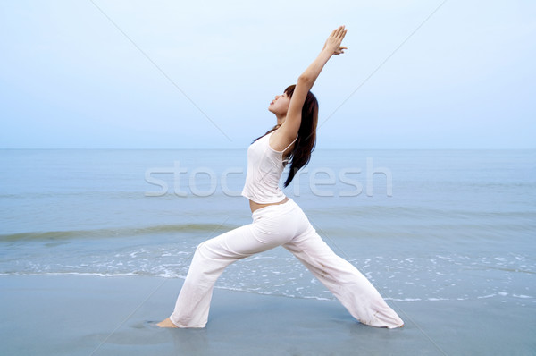 Yoga. Stock photo © szefei