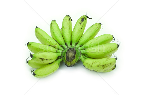 unripe baby bananas Stock photo © szefei