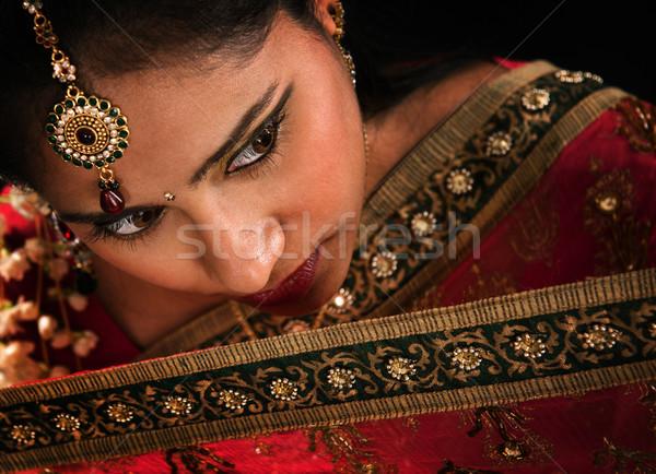 Gorgeous Indian woman Stock photo © szefei