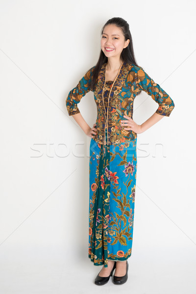 Southeast Asian female Stock photo © szefei