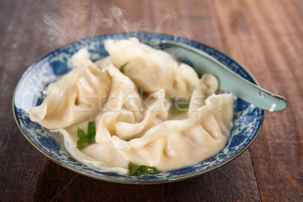 Dumplings soup  Stock photo © szefei