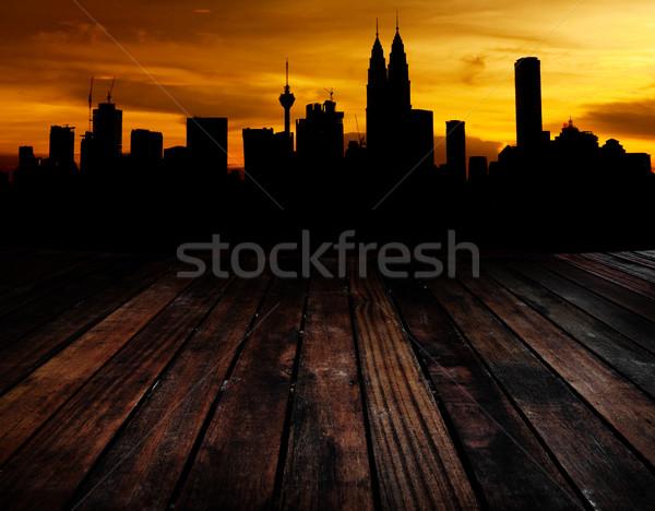 Kuala Lumpur görmek ahşap arka oda Stok fotoğraf © szefei