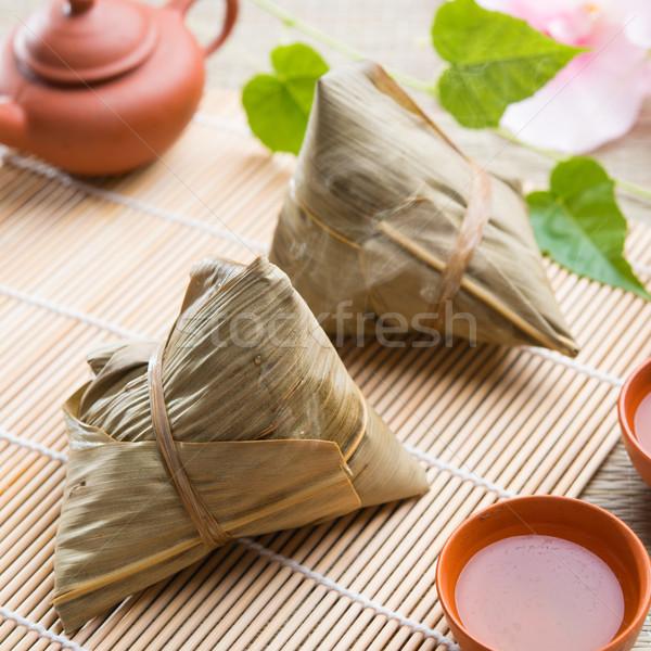 Dumplings Stock photo © szefei