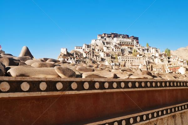 India Thikse Monastery Stock photo © szefei